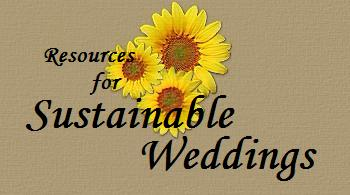 Resources for Sustainable Weddings
